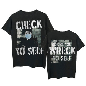 Check Yo Self Photo T-shirt