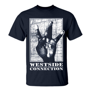 Westside Connection Navy T-Shirt