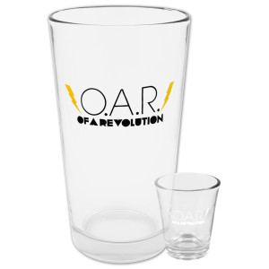 O.A.R. Lightning Bolt Pint & Shot Glass Bundle