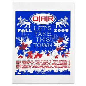 O.A.R. 2009 Fall Tour Poster