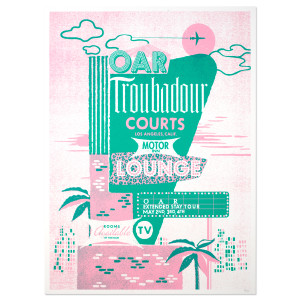 O.A.R. Extended Stay Tour - Troubadour Courts Poster