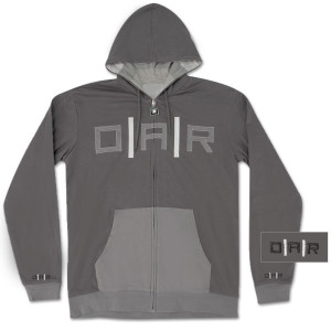 O.A.R. Reversible Zip-Up Hoodie