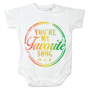 "O.A.R. ""You're My Favorite Song"" Onesie"