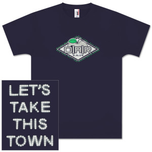 "O.A.R. 8.15.09 ""Let's Take This Town"" New York, NY Event T-Shirt in Navy"