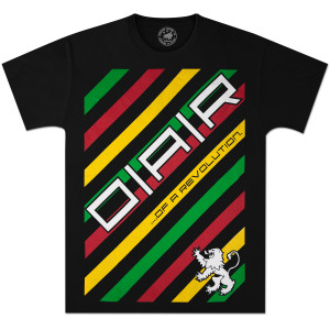 O.A.R. Black Rasta T-Shirt