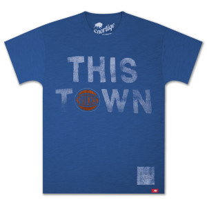 "O.A.R. Collective NBA ""This Town"" New York Knicks T-Shirt"