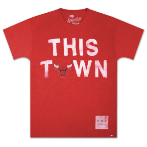 "O.A.R. Collective NBA ""This Town"" Chicago Bulls T-Shirt"