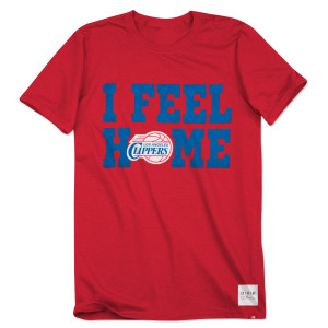 "O.A.R. ""I Feel Home"" LA Clippers Collective T-Shirt"