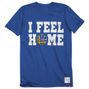"O.A.R. ""I Feel Home"" Golden State Warriors Collective T-Shirt"