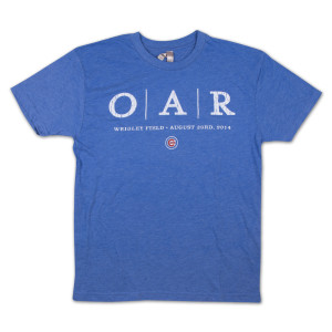 O.A.R. - Chicago Cubs Wrigley Field Commemorative T-Shirt