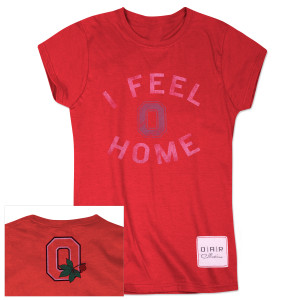 "O.A.R. Women's ""I Feel Home"" T-Shirt"