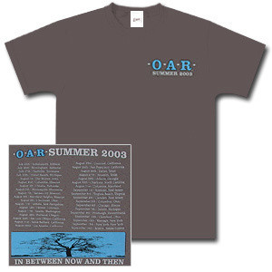 O.A.R. Summer 2003 Tour T-Shirt