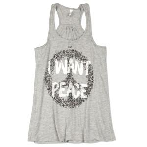 O.A.R. I Want Peace Razor Tank