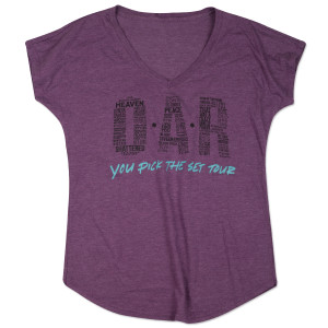 OAR Ladies V-Neck You Pick The Set Tour