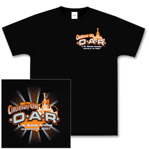 O.A.R. Cincinnati Main Event T-Shirt