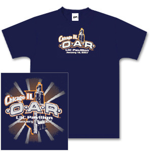 O.A.R. Chicago Main Event Tour T-Shirt