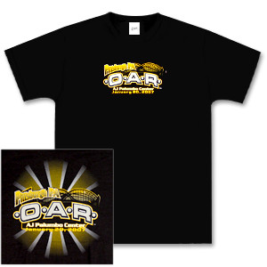 O.A.R. Pittsburgh Main Event Tour T-Shirt