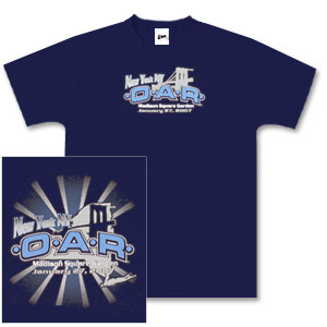 O.A.R. New York Tour T-Shirt