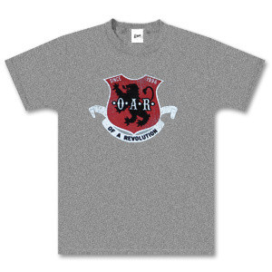 O.A.R. Grey Coat of Arms T-Shirt