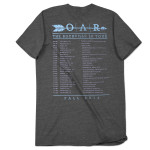O.A.R. The Rockville LP 2014 Tour T-Shirt - Heather Gray