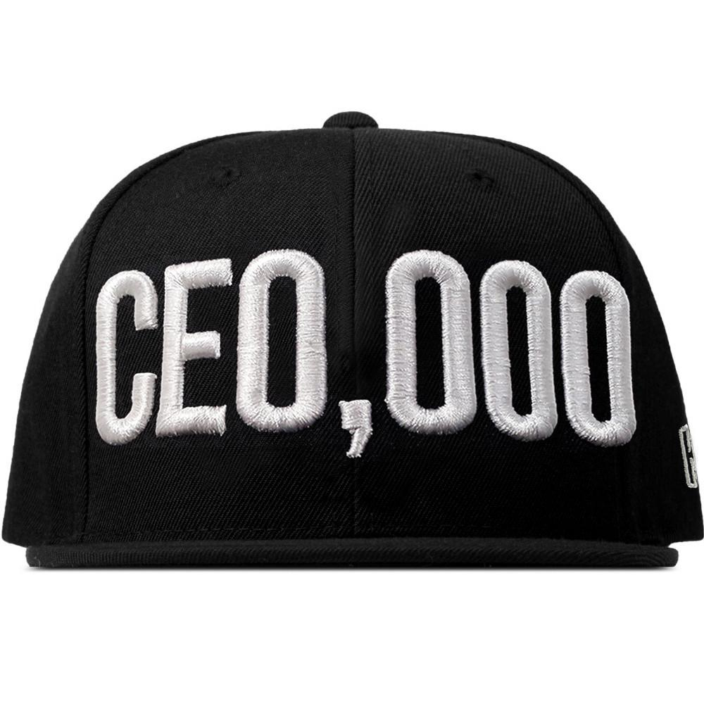 $CE0,000 Snapback Hat [Black]