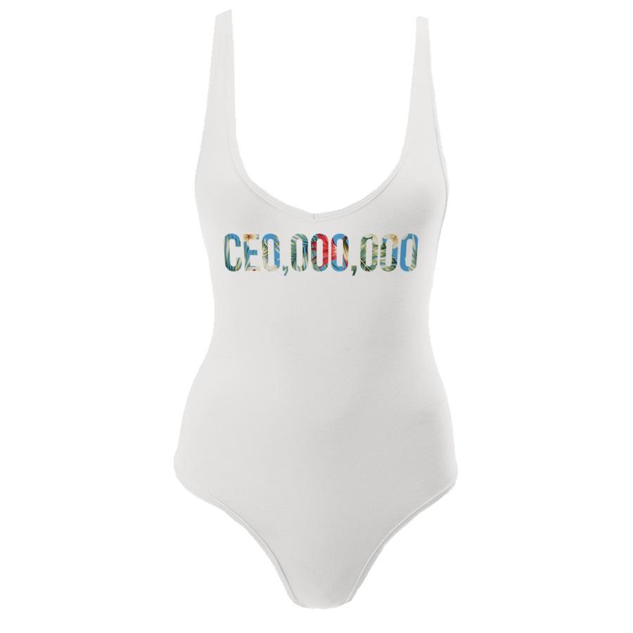 $CE0,000,000 Kauai Collection Women's Bodysuit [White]