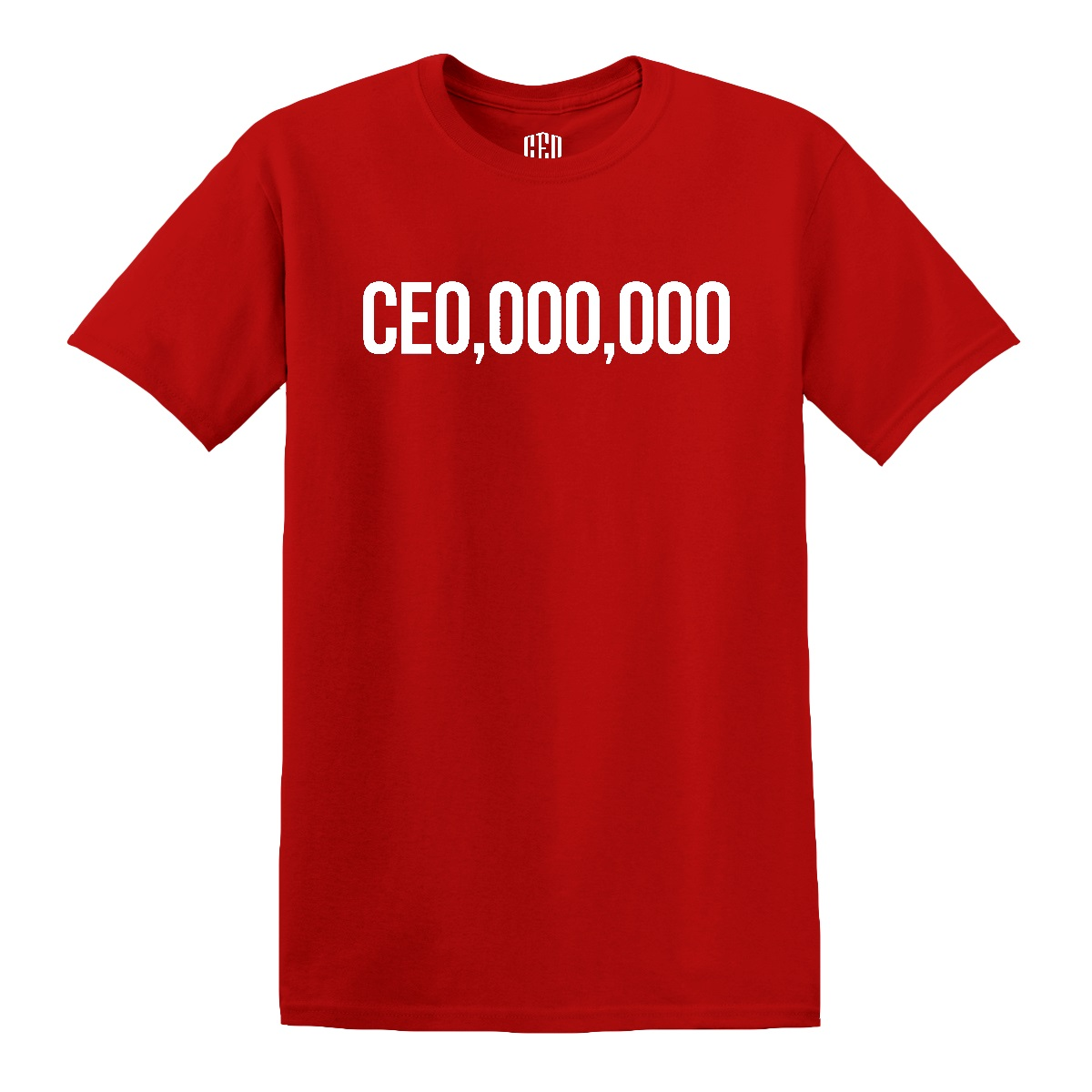 $CE0,000,000 T-Shirt [Red]