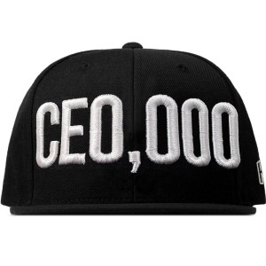 $CE0,000 Snapback Hat [Black]