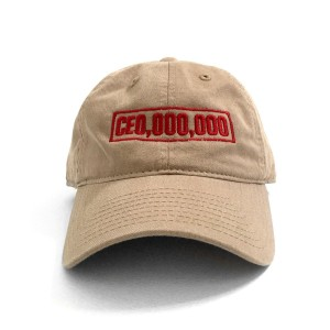 $CE0,000,000 Box Dad Hat [Khaki]