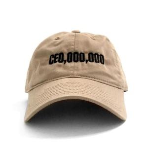 $CE0,000,000 Dad Hat [Khaki]