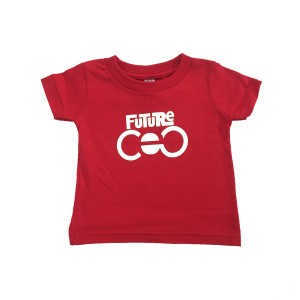 Future CEO Youth T-Shirt [Red]
