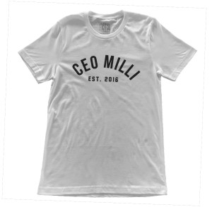 CEO Milli T-Shirt [White]
