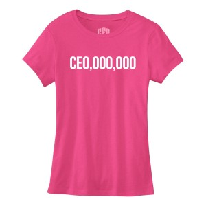 $CE0,000,000 Women's T-Shirt [Berry]