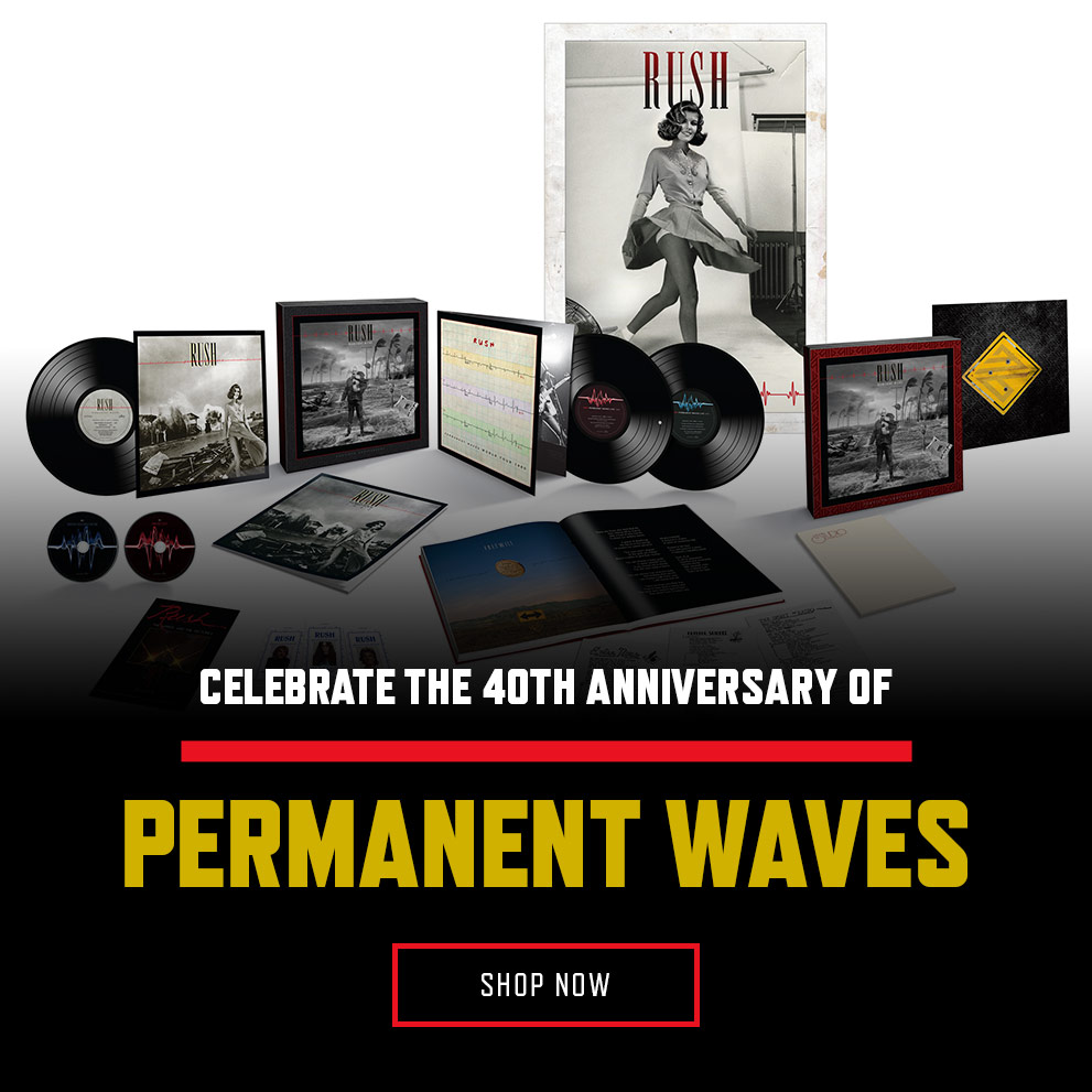 Permanent Waves 40th Anniversary