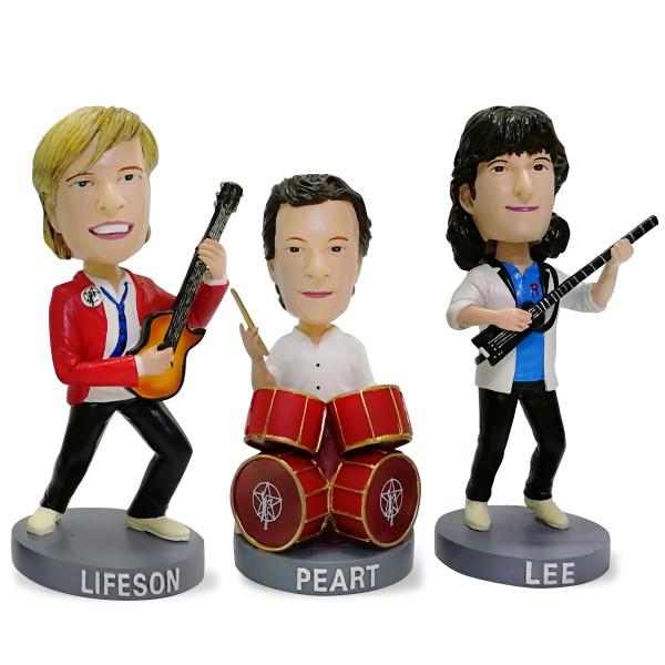 Rush 80's Edition Bobblehead Dolls