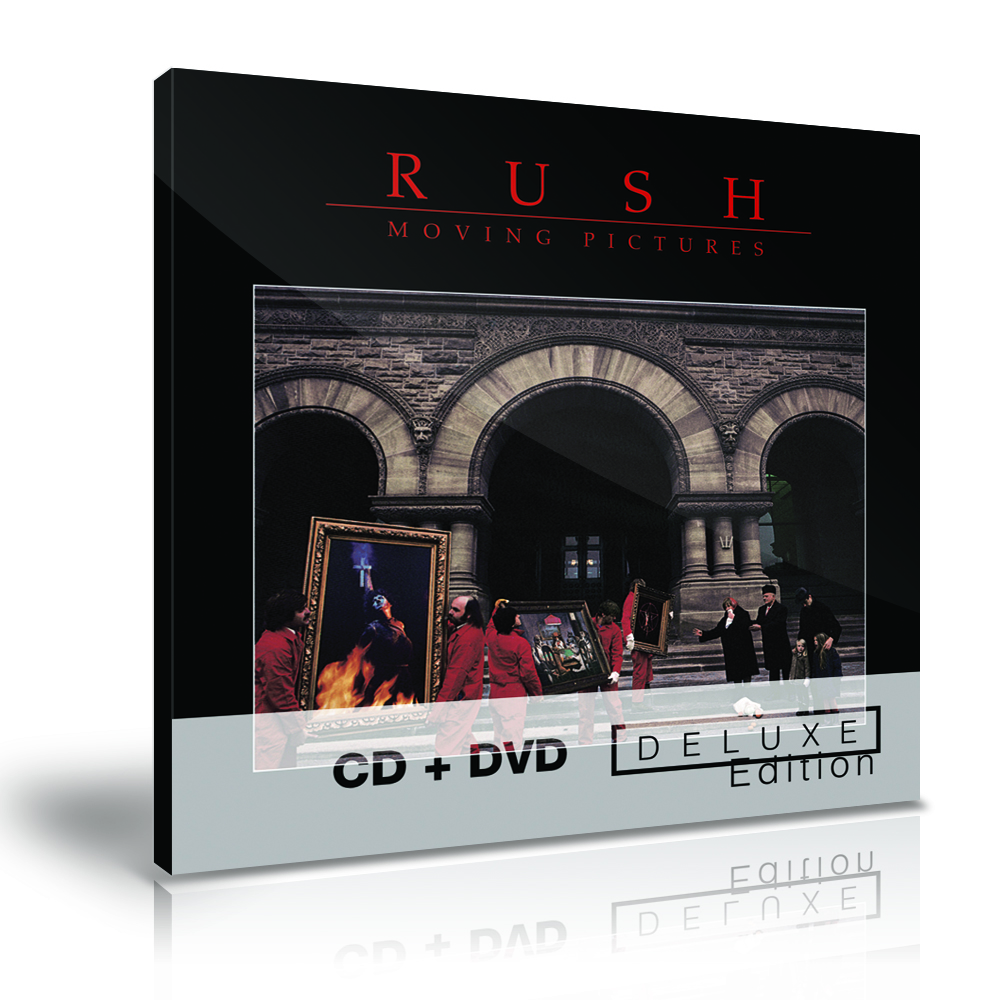 Moving Pictures Deluxe Edition - CD + DVD