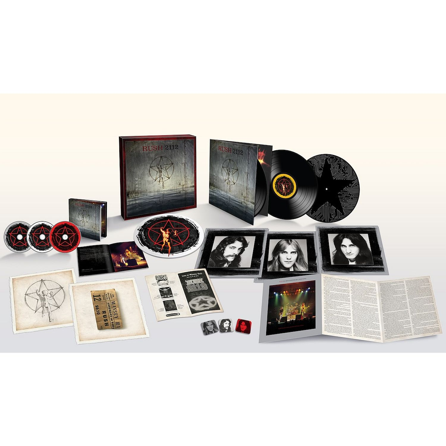 Rush 2112 Limited Edition Super Deluxe