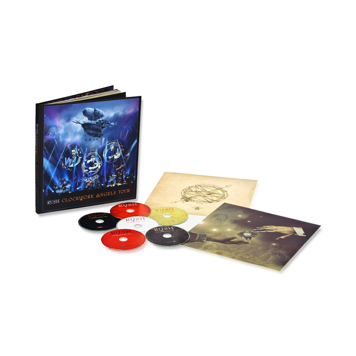 Rush Clockwork Angels Tour - Limited Edition Deluxe Package