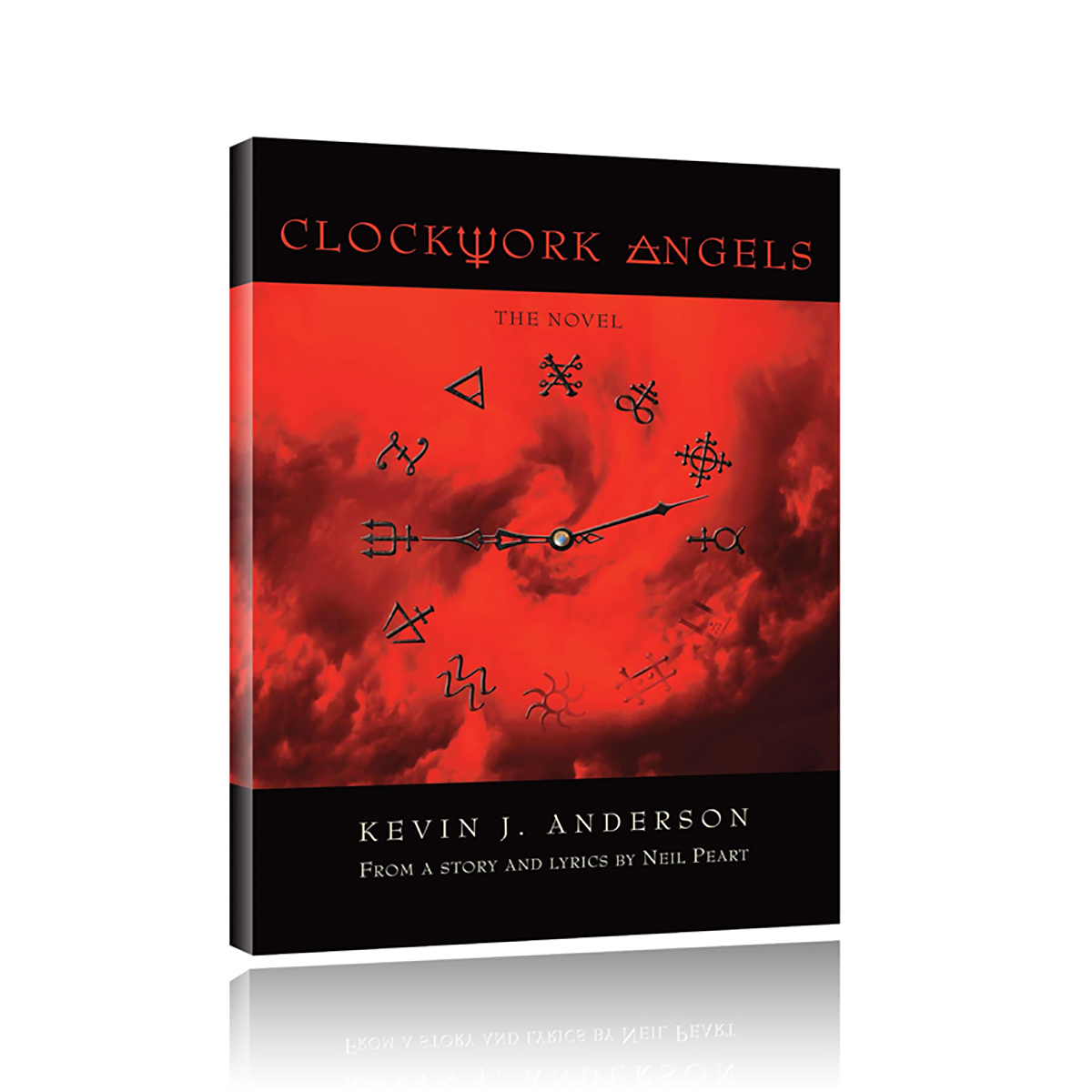 Clockwork Angels Hardcover Book
