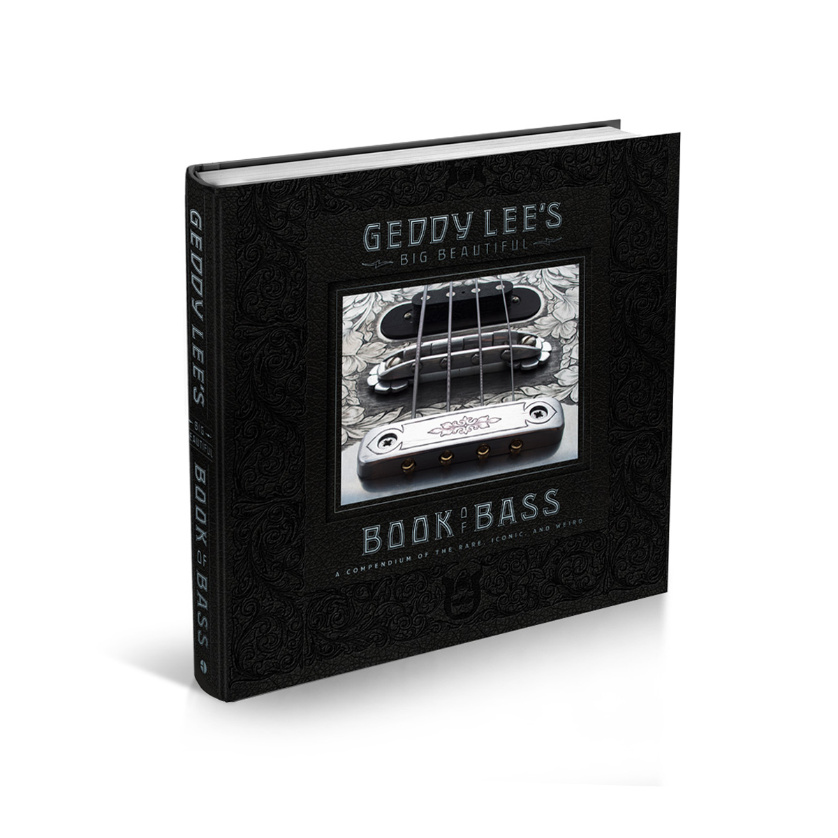 Ultra Limited Edition - Geddy Lee's Big Beautiful Book of Bass - Autographed