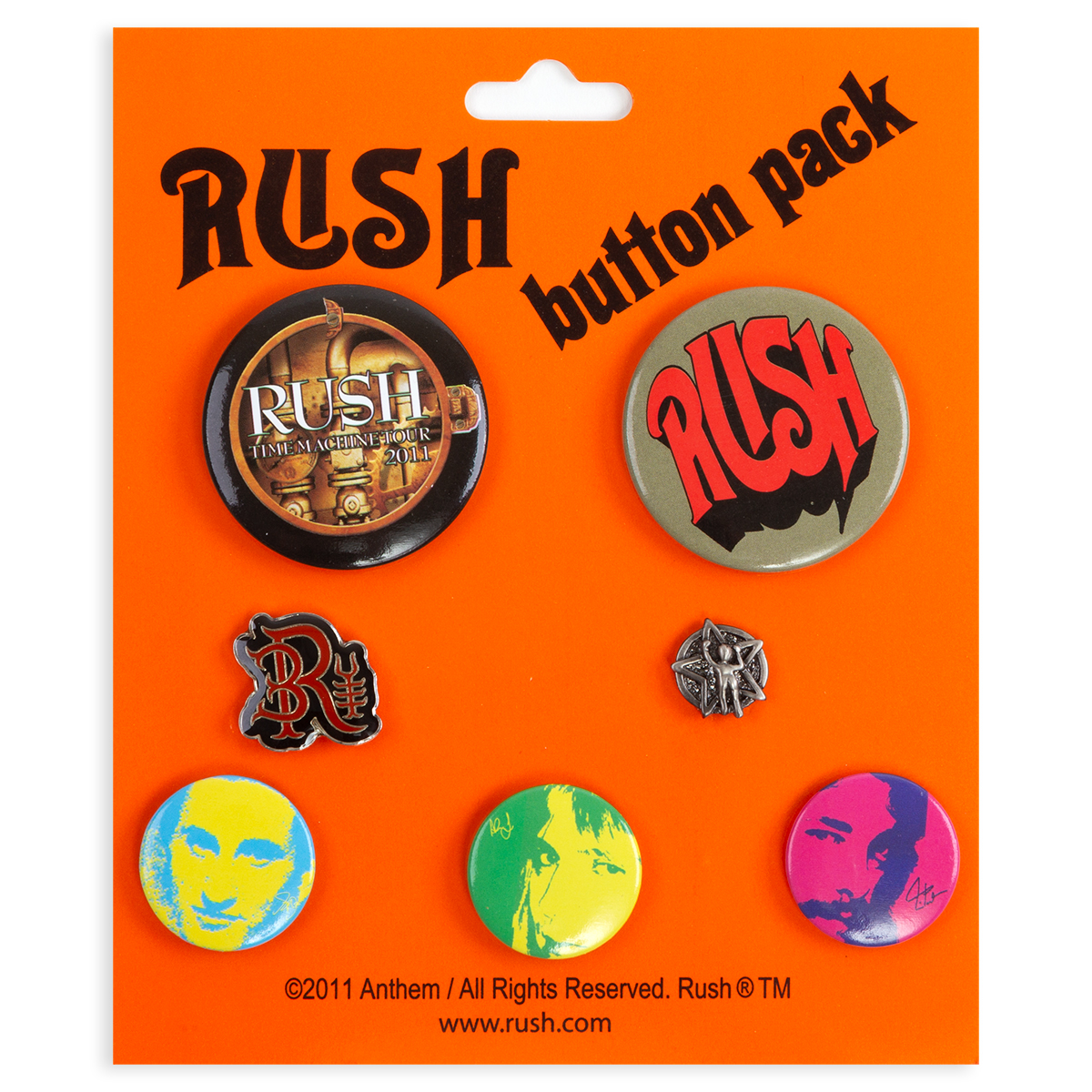 Time Machine Button & Pin Set