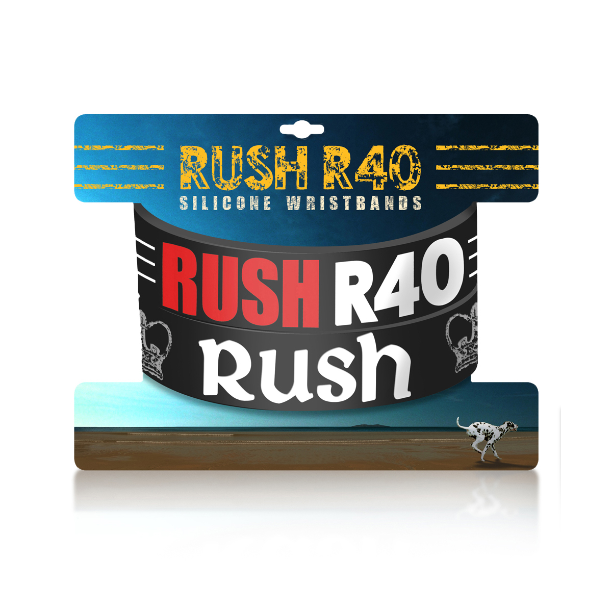 Rush R40 Wristbands