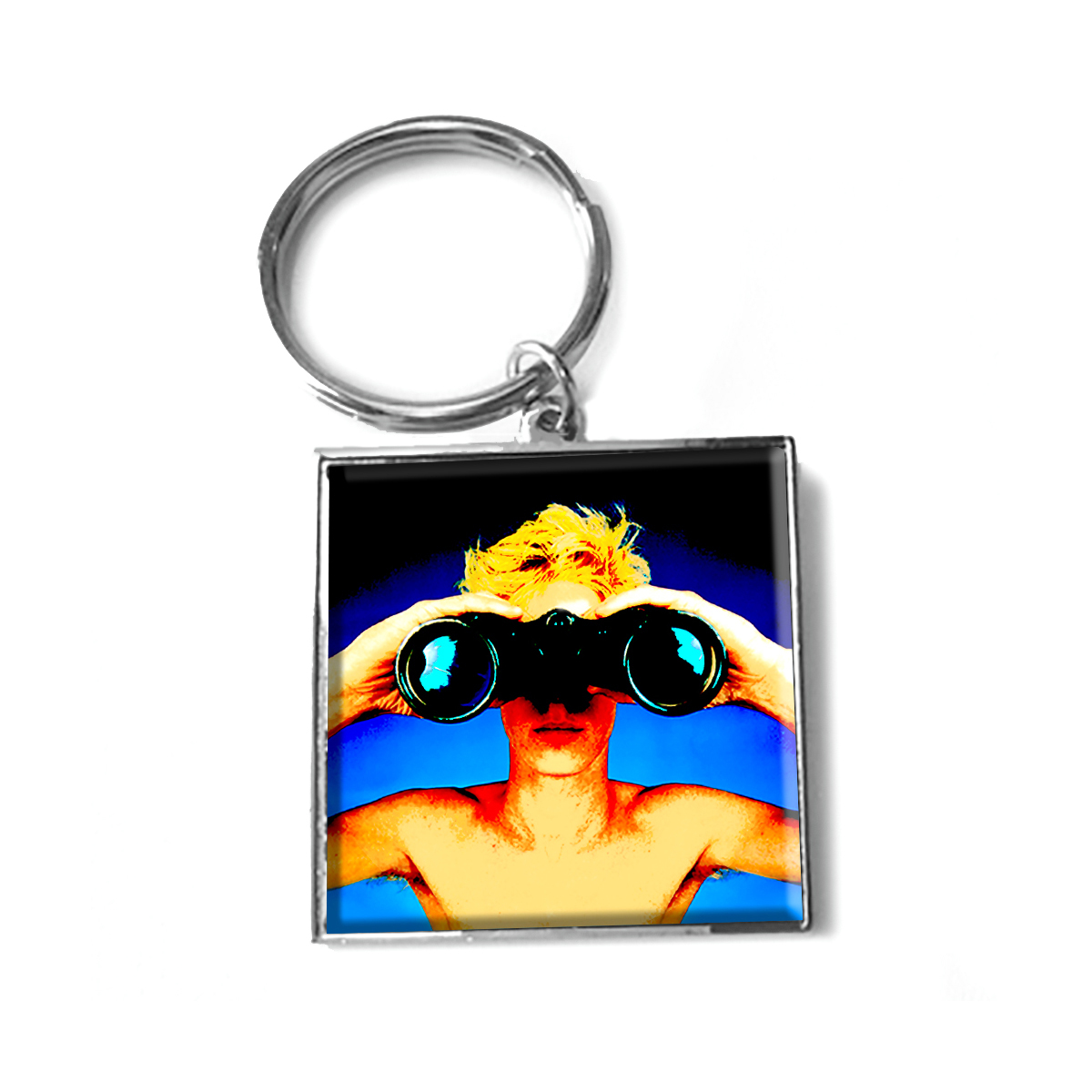 Rush Power Windows Keychain