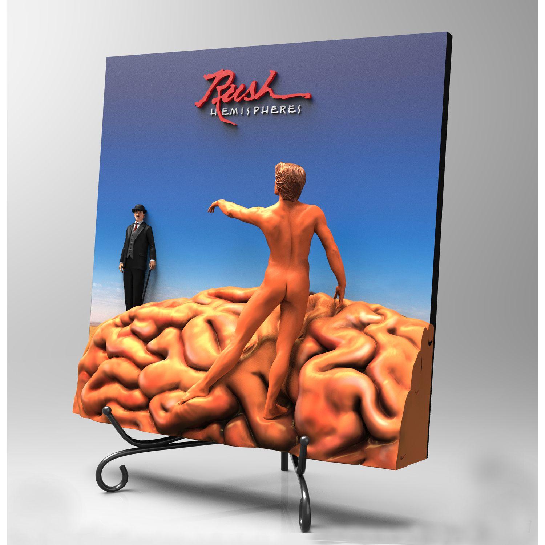 Hemispheres 3D Vinyl