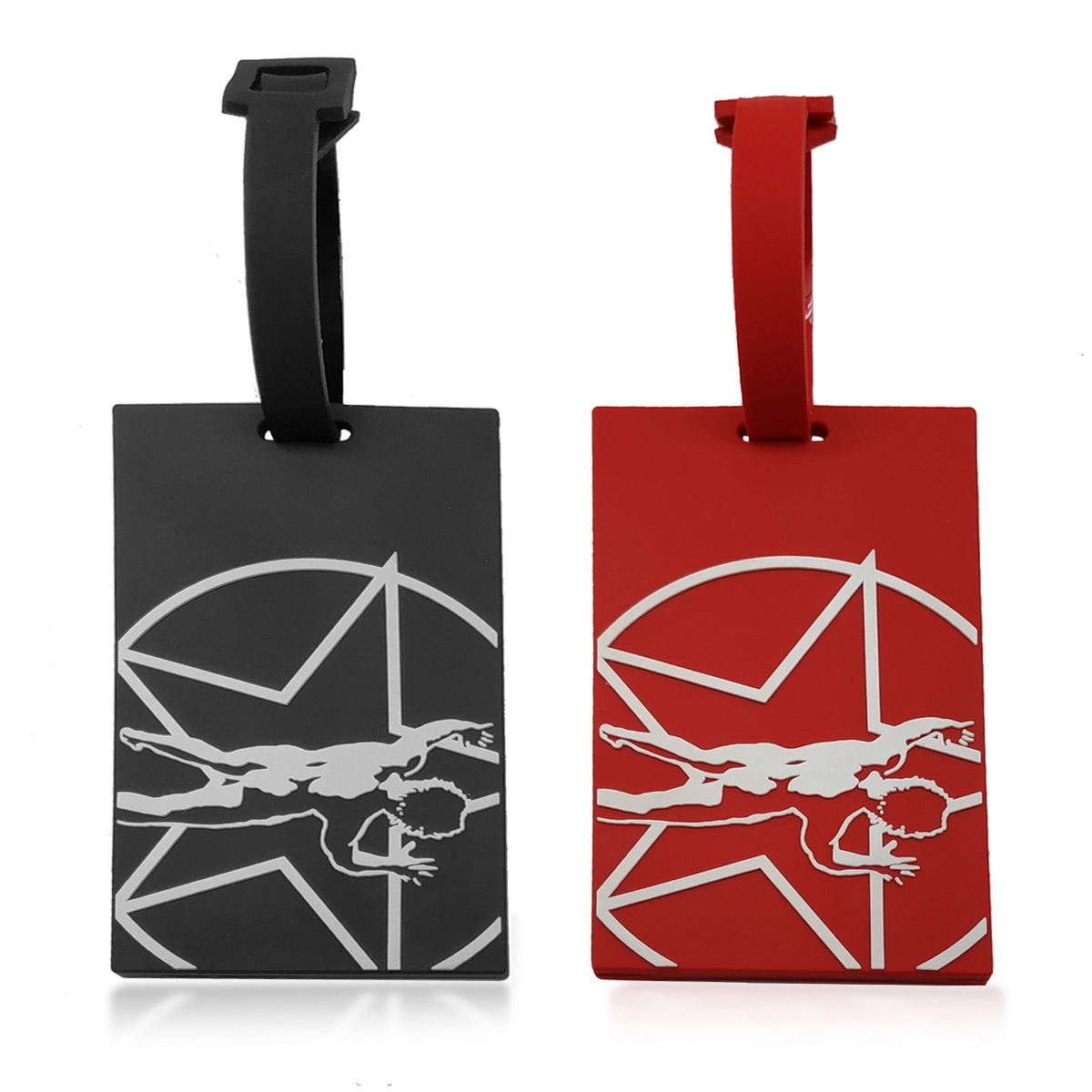 Starman Luggage Tags
