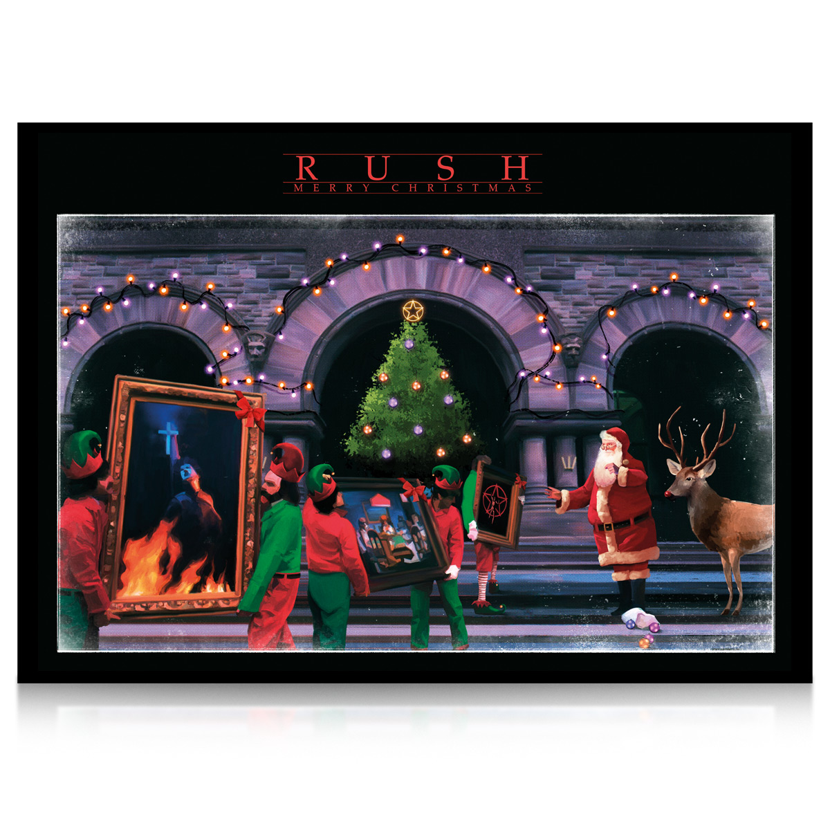 Rush: Moving Pictures Christmas Card (Bundle of 12)