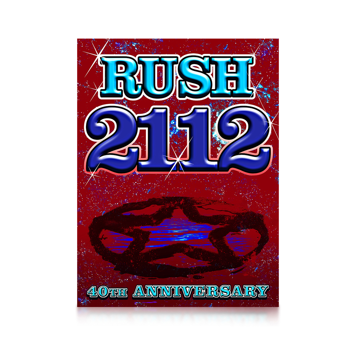 Rush 2112 40th Special Edition Litho