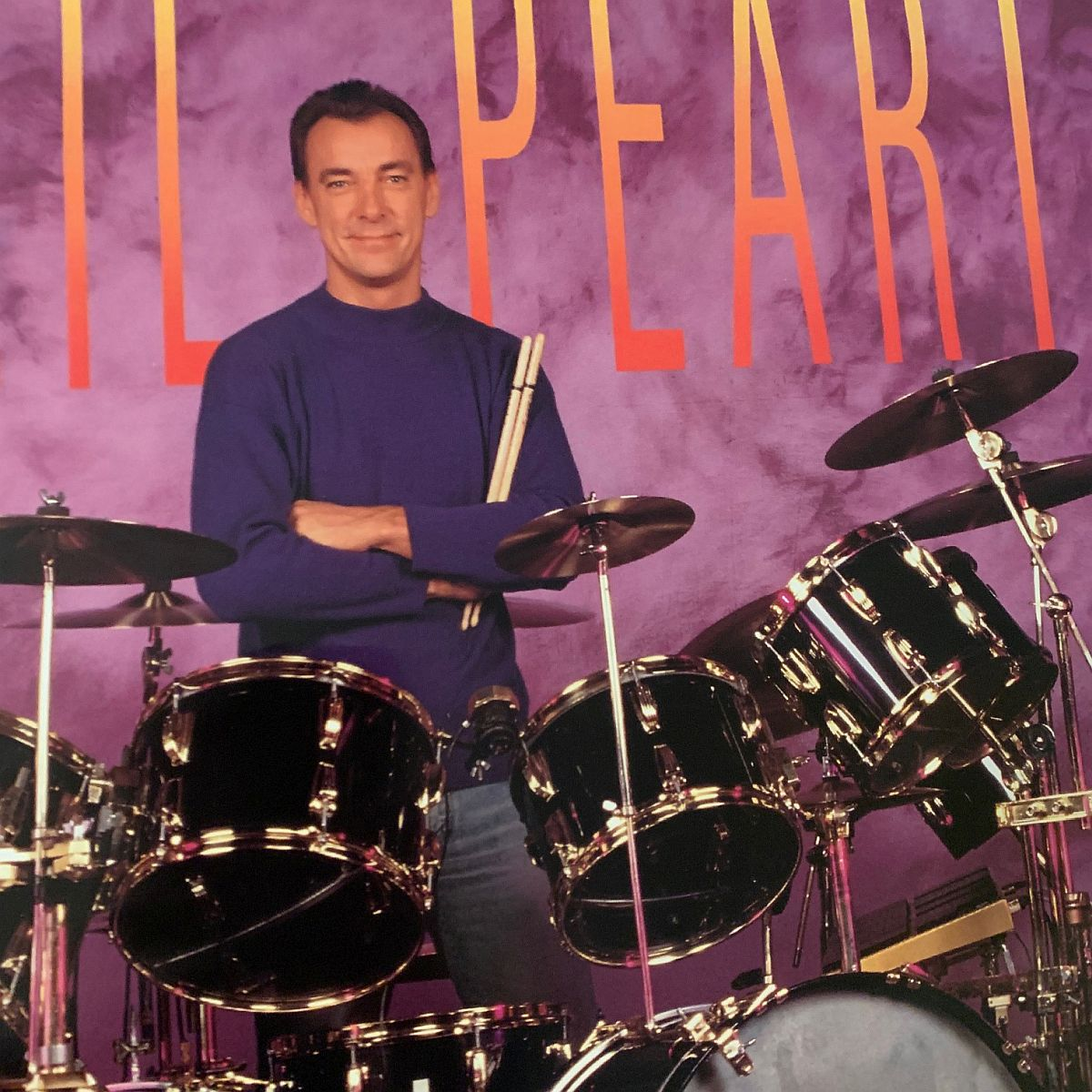 Neil Peart Ludwig Promo Poster