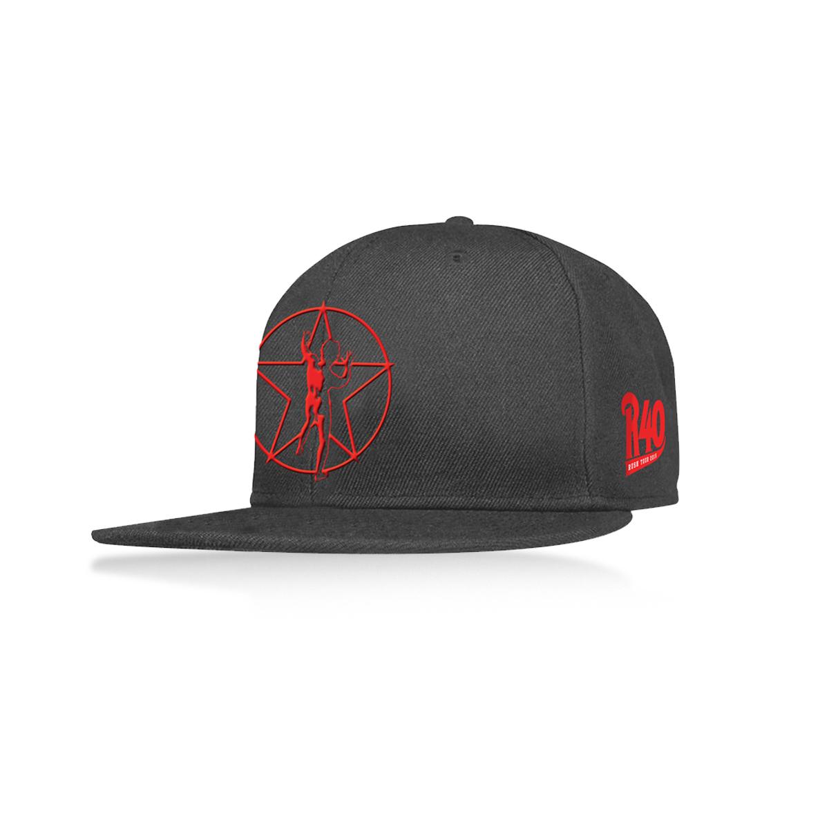 R40 Flat Brim Hat