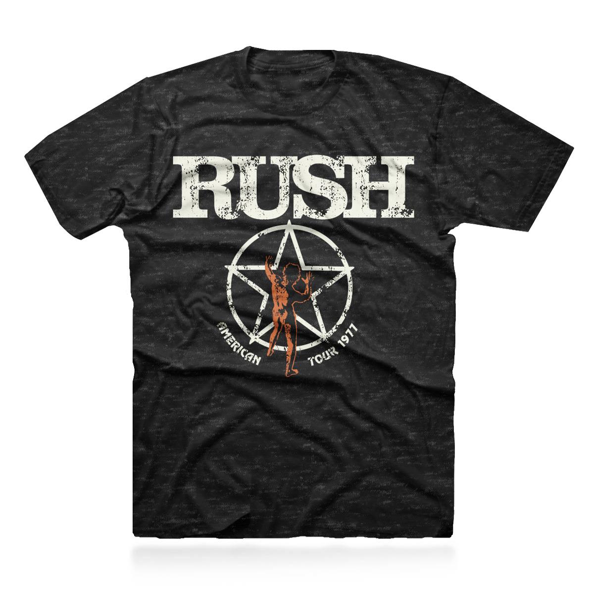 Rush American Tour 1977 Tour Tee